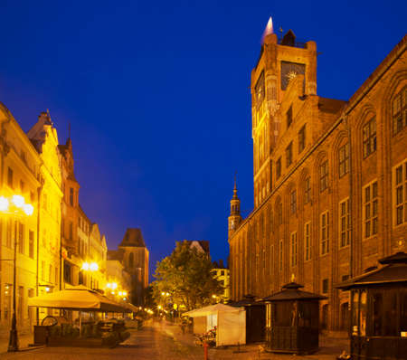 Market square in Torun. Poland