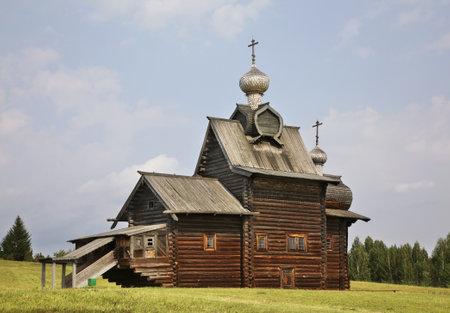 Church of Transfiguration in Khokhlovka. Perm krai. Russia