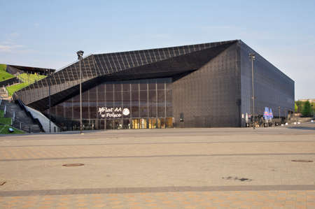 International congress center in Katowice. Poland Standard-Bild - 167314276
