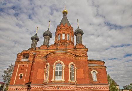 Church of Transfiguration in Bryansk. Russia