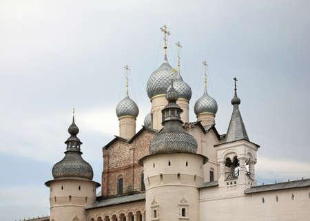 Kremlin in Rostov Veliky. Russia Standard-Bild