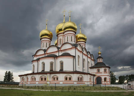 Assumption Cathedral of Valday Iversky Monastery. Novgorod Oblast. Russia