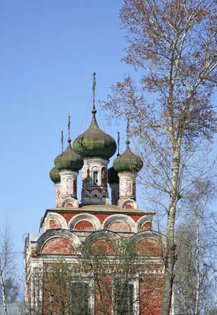 Trinity cathedral in Ostashkov. Russia Standard-Bild