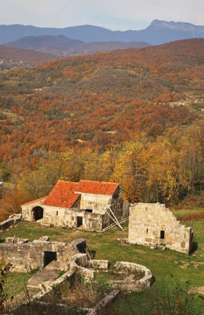 Former church at Gelati village near Kutaisi. Imereti Province. Georgia