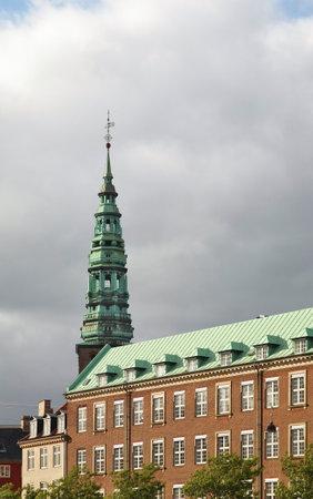 Saint Nicholas church in Copenhagen. Denmark Standard-Bild