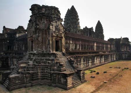 Angkor Wat - Capital temple. Siem Reap province. Cambodia