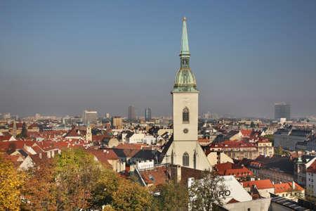 Cathedral of St. Martin in Bratislava. Slovakia