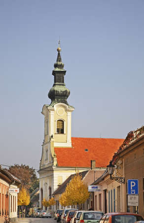 Evangelical church in Komarno. Slovakia