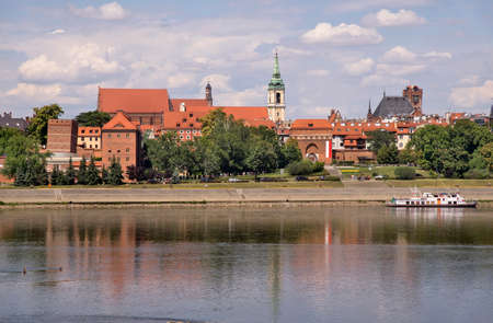 Panoramic view of Torun. Poland
