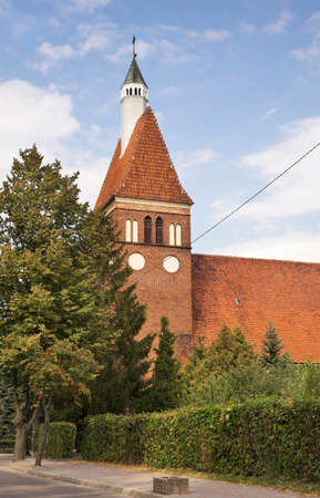 Parish church of Christ the King in Jablonowo Pomorskie. Poland