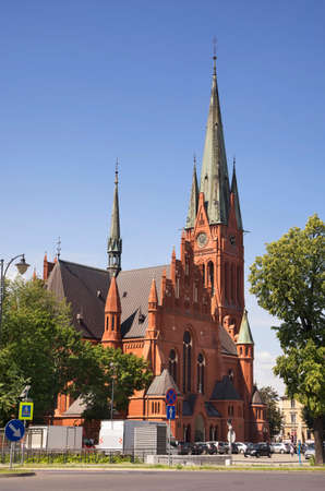 Church of St. Catherine in Torun. Poland