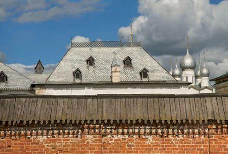 View of Kremlin of Rostov (Rostov Great). Yaroslavl oblast. Russia