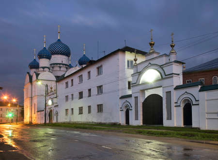 Epiphany cathedral at Epiphany convent in Uglich. Russia