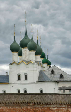 Church of St. Gregory of Nazianzus at Kremlin of Rostov (Rostov Great). Yaroslavl oblast. Russia Standard-Bild