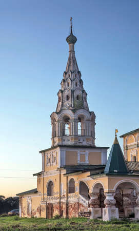 Church of Nativity of John Baptist on Volga in Uglich. Russia Standard-Bild