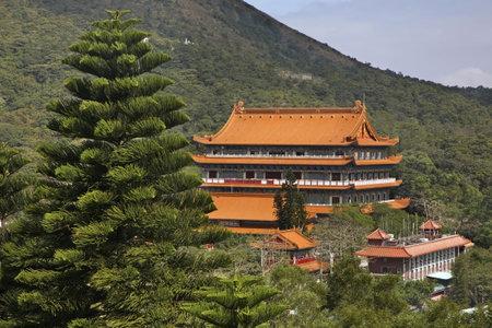Po Lin Monastery. Lantau Island. Hong Kong. China