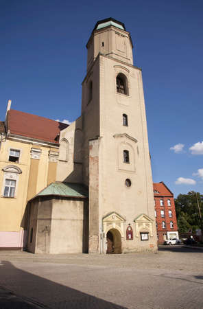 Church of Saints Peter and Paul (Former Gymnasialkirchein) in Zagan. Poland