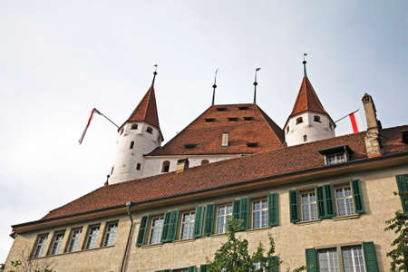 Thun Castle (Schloss Thun). Switzerland