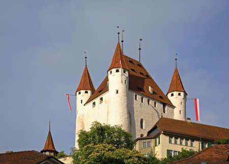 Thun Castle (Schloss Thun). Switzerland