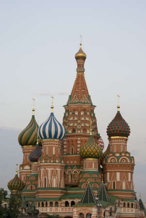 Saint Basil in Moscow