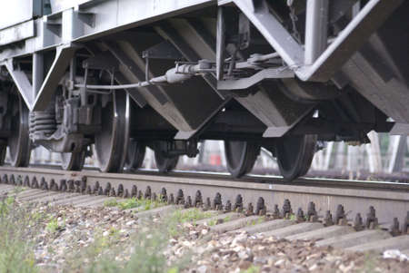 persuasion: Train on the railway in the Russia