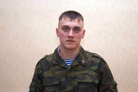 troops: Russian brave solder, paratrooper, airborne troops