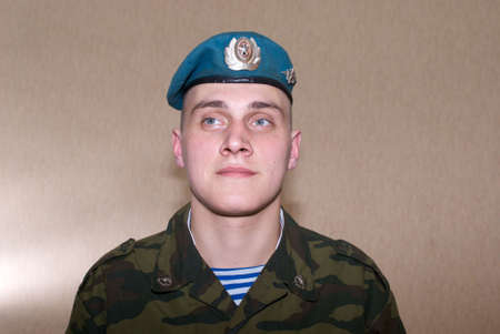 paratrooper: Russian brave solder, paratrooper, airborne troops