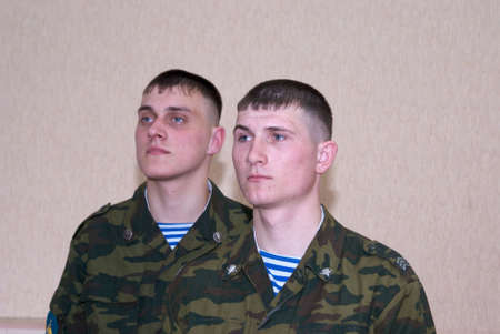 paratrooper: Russian solder, paratrooper; airborne troops
