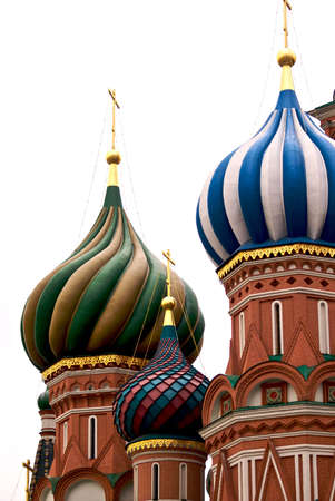 Saint Basil cathedral on the Red Square Stock Photo - 2873750