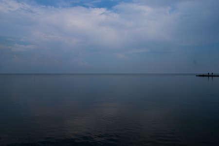 azov sea: Azov sea in Taganrog in Russia