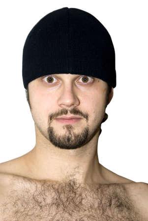 El hombre con el pelo del pecho  Foto de archivo - 3340913