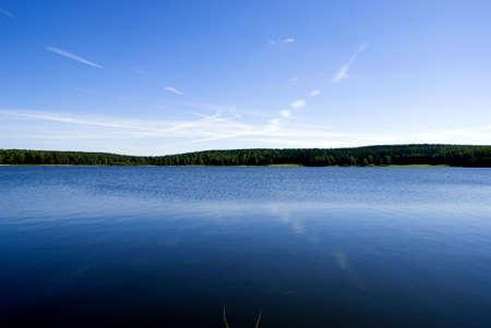 Lake on Siberia photo