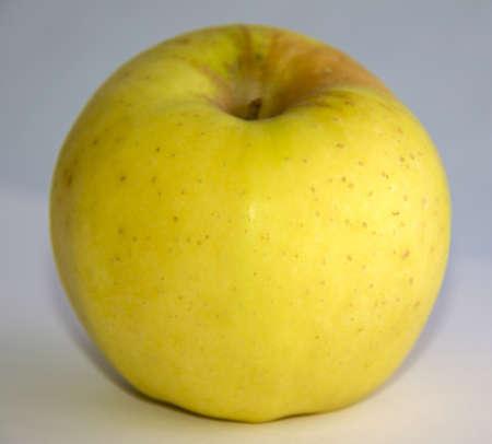 pomme jaune: pomme jaune Banque d'images