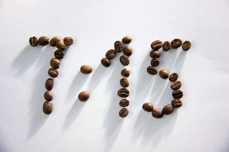 get up: 7:15 time for get up made from coffee beans