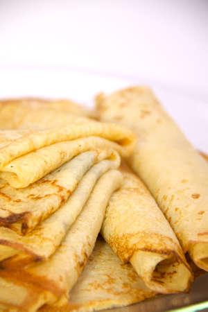 fresh hot pancake Stock Photo - 4363529