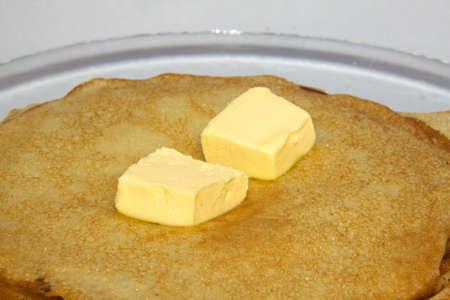 fresh hot pancake Stock Photo - 4458871
