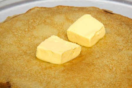 fresh hot pancake Stock Photo - 4458872