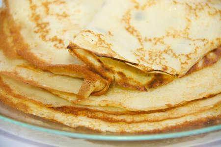 fresh hot pancake Stock Photo - 4458869