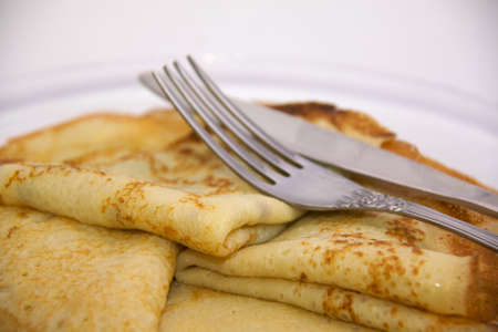 fresh hot pancake Stock Photo - 4458539