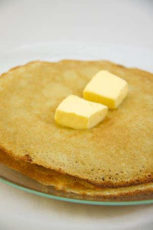 fresh hot pancake Stock Photo - 4459094
