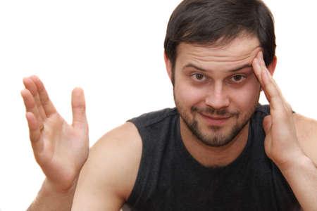 gesticulation: guy gesticulation