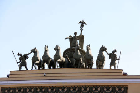 Winter Palace in Saint Peterburg Stock Photo - 5378829