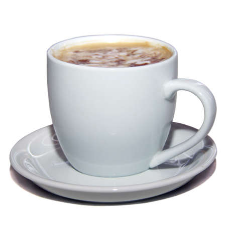 cappuchino: cappuchino isolated Stock Photo