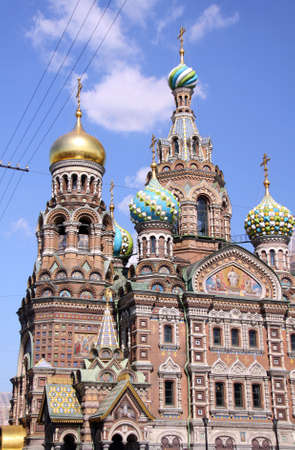 Church of the Savior on Blood - very famous landmark in Saint Petersburg, Russia, Europe  Stock Photo - 5695774