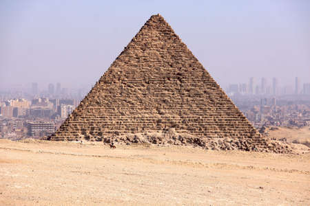 Pyramids of Giza in Egypt photo