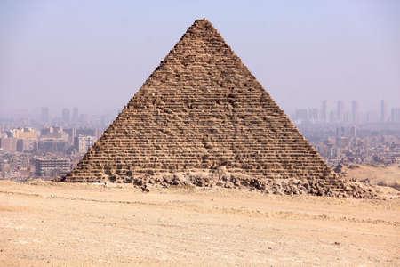 giza: Pyramids of Giza in Egypt