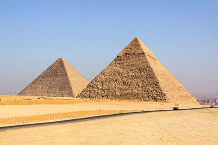 Pyramids of Giza in Egypt Stock Photo - 6210558