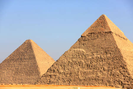 Pyramids of Giza in Egypt photo