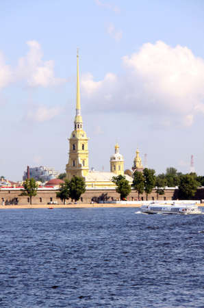 The Peter and Paul Fortress, St. Petersburg, Russia  photo