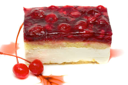 mouth watering: Mouth watering cherry cheesecake macro